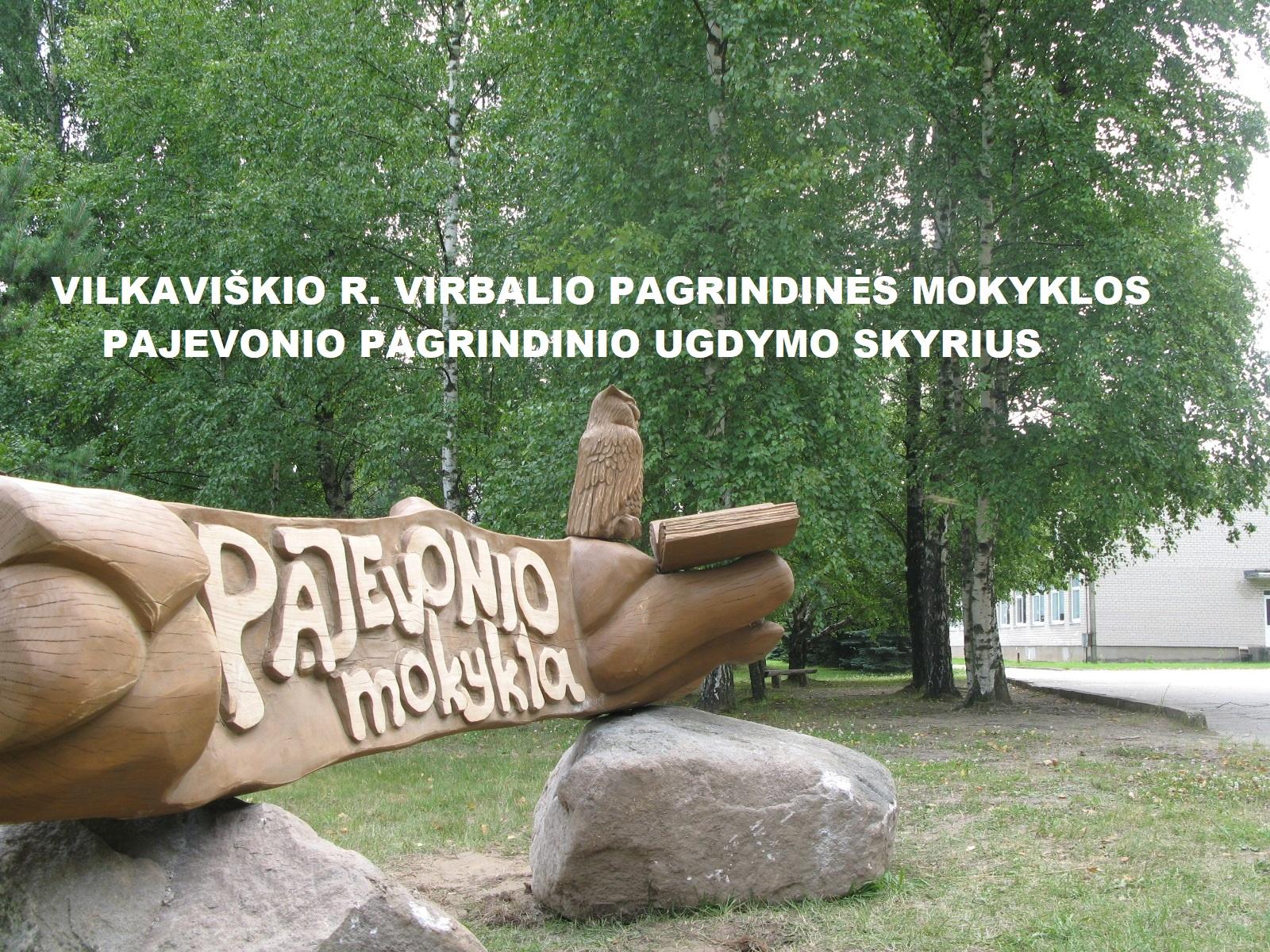 Vilkaviškio r. Virbalio pagrindinės mokyklos Pajevonio pagrindinio ugdymo skyrius